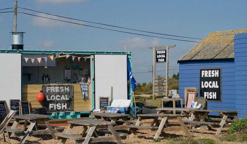 Where to eat by the sea: Dungeness Snack Shack for fresh local fish in Kent